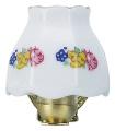 Wandlampe Porzellanschirm mit Borte H35mm (12316) NML