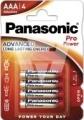 Panasonic Micro Pro Power Alkali LR03X/4er Blister