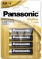 Panasonic Alkaline Power Mignon LR6X 4er Blister
