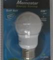Memostar Energiesparlampe Golf Ball 9W E27