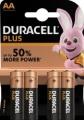 Duracell Plus  Alkaline Mignon MN1500 4er Blister