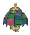 LED-Wandlampe mit Tiffanyschirm 12V