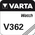 Varta Uhrenbatterie V362 / SR 721 SW
